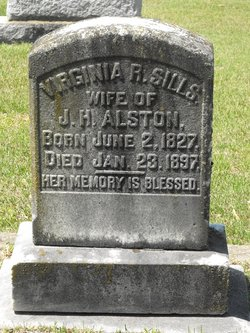 Virginia Rebecca <i>Sills</i> Alston