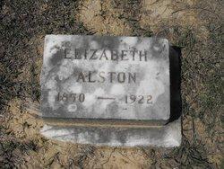 Elizabeth Bell Lizzie <i>Muse</i> Alston