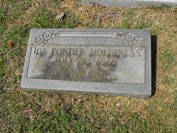 Ida <i>Ponder</i> Holdiness