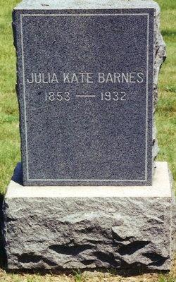 Julia Katherine Katie <i>Imes</i> Barnes