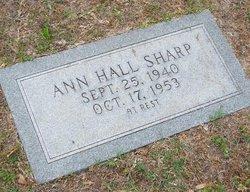 Ann Hall Sharp