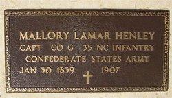 Mallory Lamar Henley