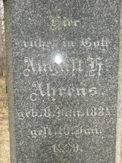 August H Ahrens