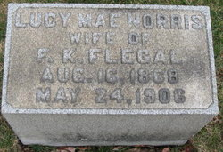 Lucy May <i>Norris</i> Flegeal
