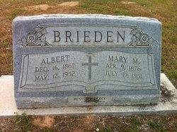 Mary M <i>Haller</i> Brieden