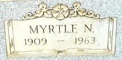 Myrtle N <i>Langston</i> Faisst