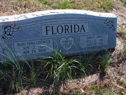 Mary Edna <i>Leftwich</i> Florida