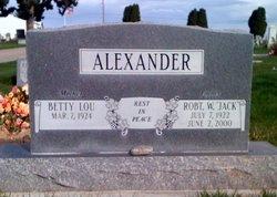 Robert Wilson Jack Alexander