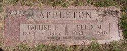 Pauline I <i>Carroll</i> Appleton