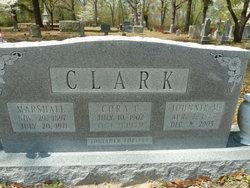 Cora <i>Clark</i> Clark