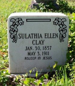 Sulathia Ellen <i>Gammon</i> Clay