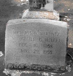 Mrs Cecile G <i>Hebert</i> Martinez