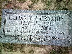 Lillian T Abernathy