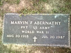 Marvin F Abernathy
