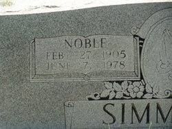 George Noble Simmons