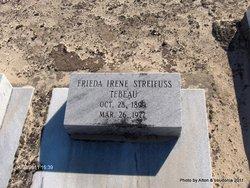 Frieda Irene <i>Streiifuss</i> Tebeau