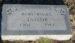 Ruby <i>Roark</i> Taylor