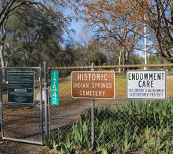 Indian Springs District Cemetery
