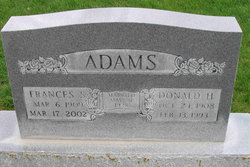 Frances Louise <i>Selleneit</i> Adams