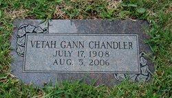 Vetah <i>Gann</i> Chandler