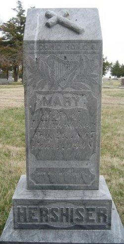 Mary <i>Davis</i> Hershiser