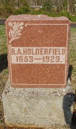 Bartholmew A Holderfield