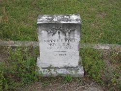 Nannie Francis <i>Martin</i> Byrd
