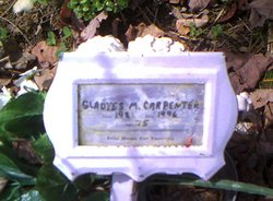 Gladyes Margaret <i>Kisner</i> Carpenter