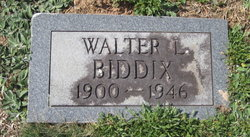 Walter Biddix
