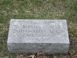 Mary Bernadine Bernadine <i>Jarrett</i> Leach