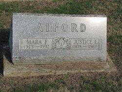Justice E Alford