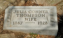 Julia Finch <i>Conner</i> Thompson