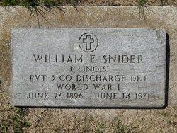 William Elliott Snider