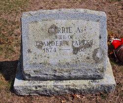 Carrie A <i>Spooner</i> Parker