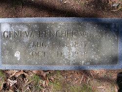 Charlotte Geneva Eva <i>Rencher</i> Winston