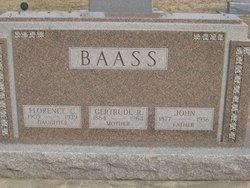 Gertrude R. Baass