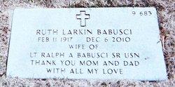 Ruth <i>Larkin</i> Babusci