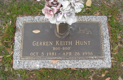 Gerren Keith Boo Boo Hunt