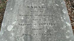 Sarah <i>Burritt</i> Hollenback