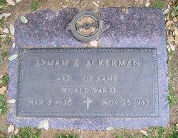 Lyman E Ackerman