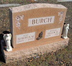 Alberta M Burch
