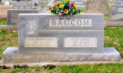 Exie Elmetta <i>Birmingham</i> Baucom
