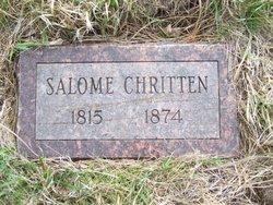 Salome <i>Snyder</i> Chritten