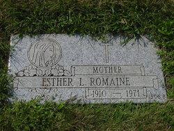 Esther L Romaine