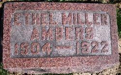 Ethel <i>Miller</i> Ambers
