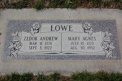 Mary Agnes Lowe