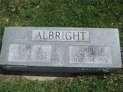 Ruby May <i>Early</i> Albright