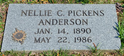 Nellie C. <i>Pickens</i> Anderson
