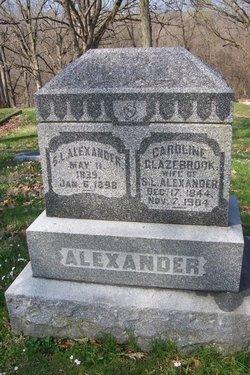 Caroline <i>Glazebrook</i> Alexander