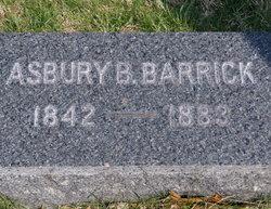 Asbury B. Barrick